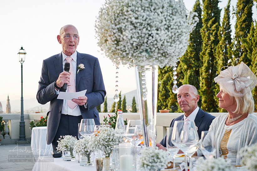 father of bride speech wedding firenze