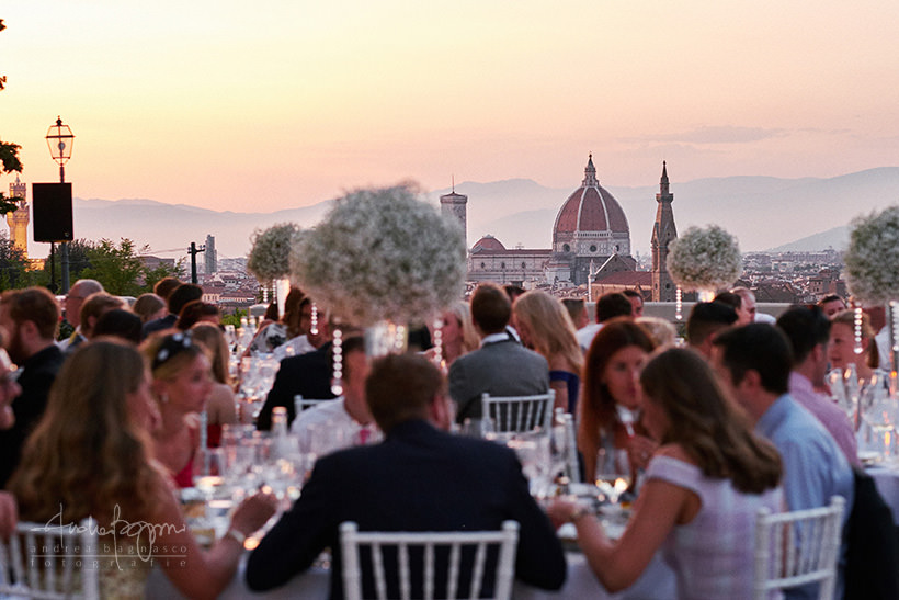 wedding party in firenze