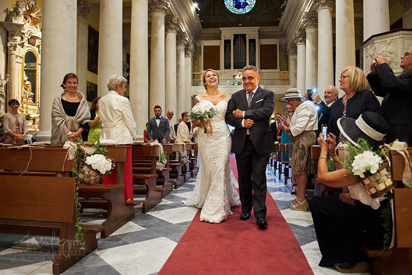 ingresso sposa matrimonio imperia