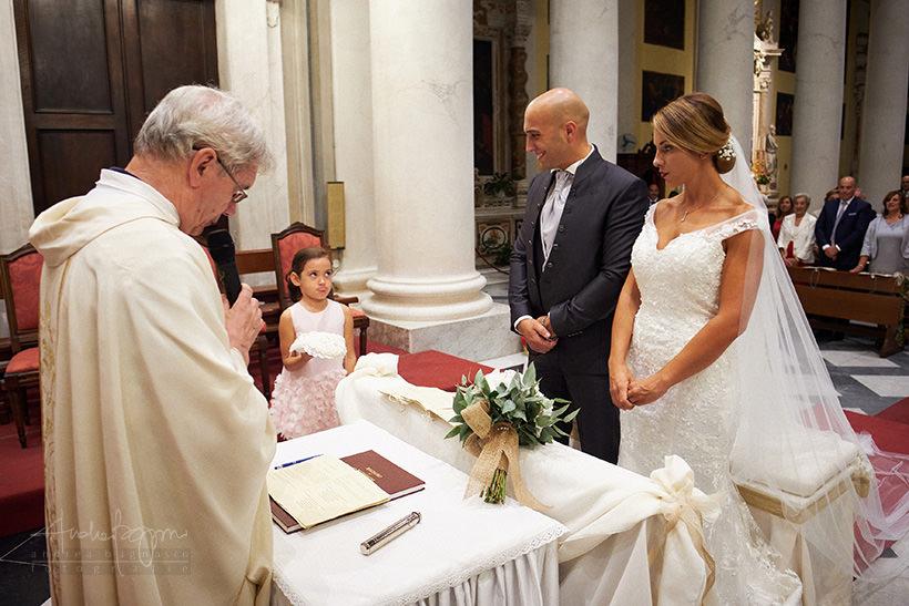 damigella anelli matrimonio