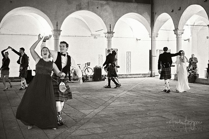 balli scozzesi matrimonio