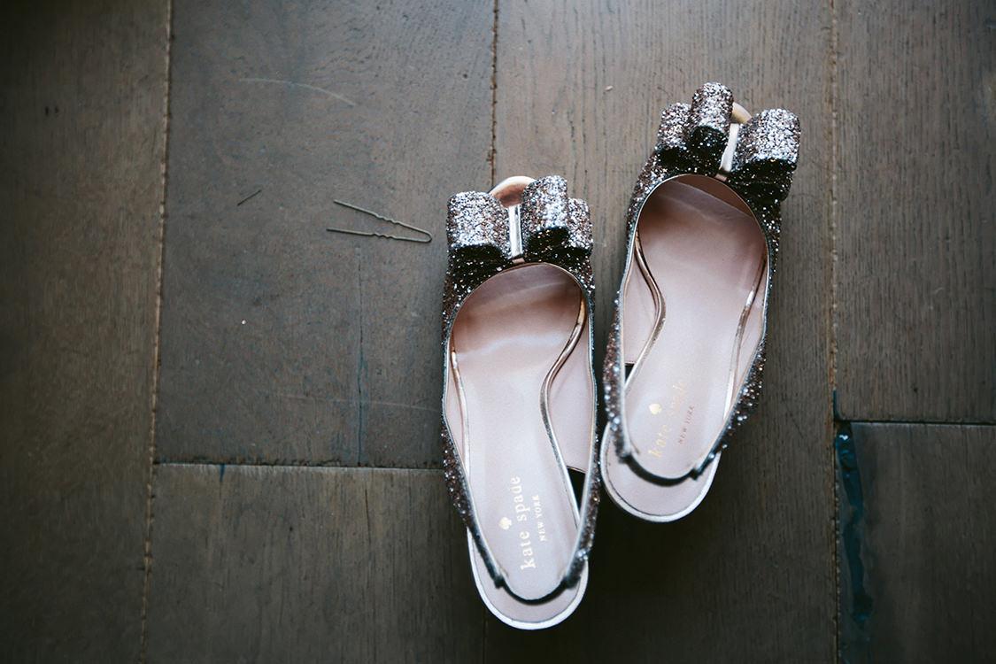 dettaglio scarpe da sposa