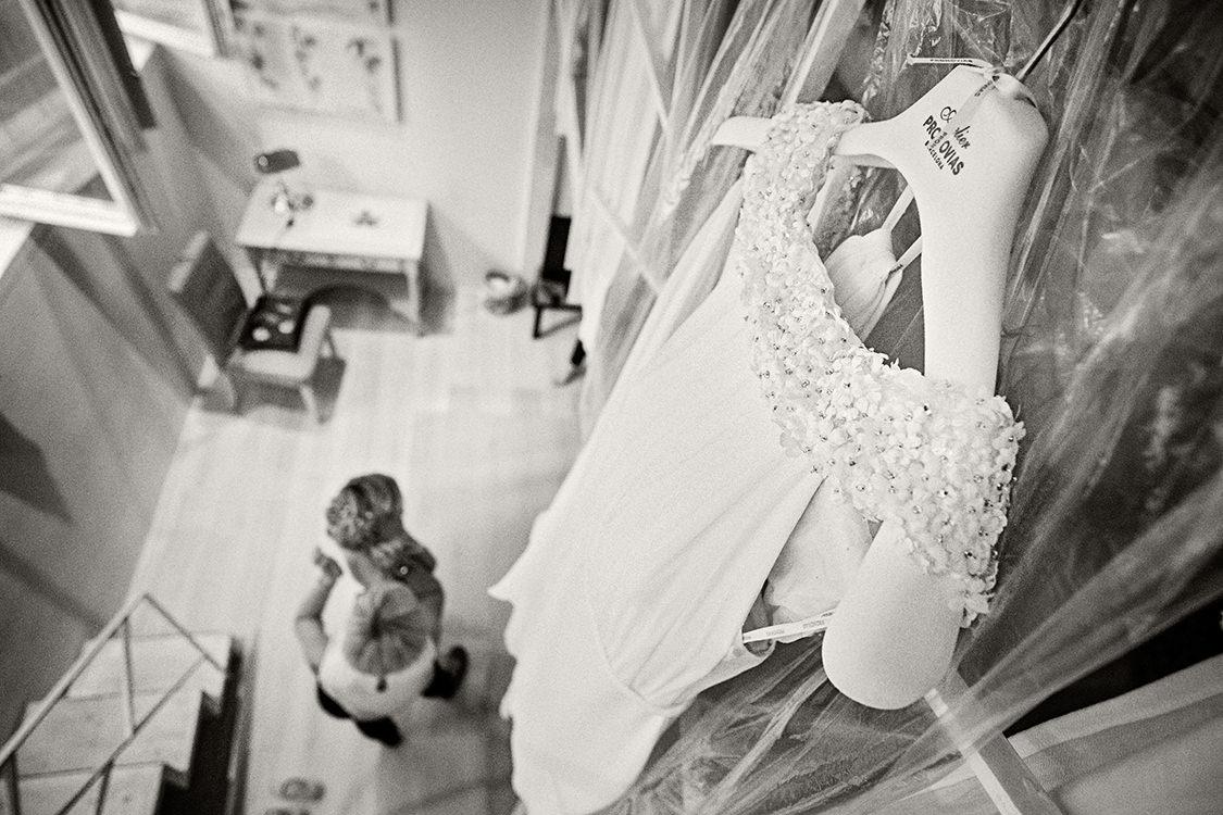 dettaglio abito sposa pronovias