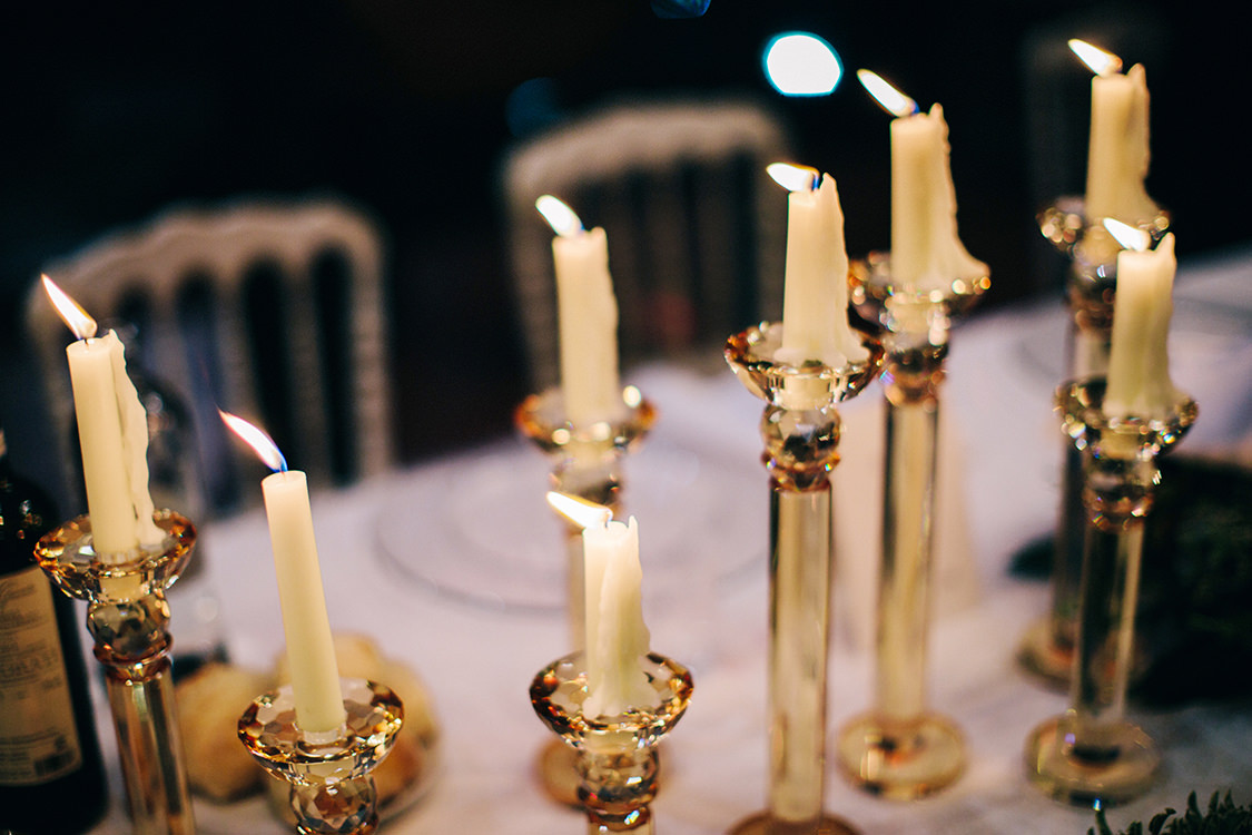 candelabri centro tavola matrimonio
