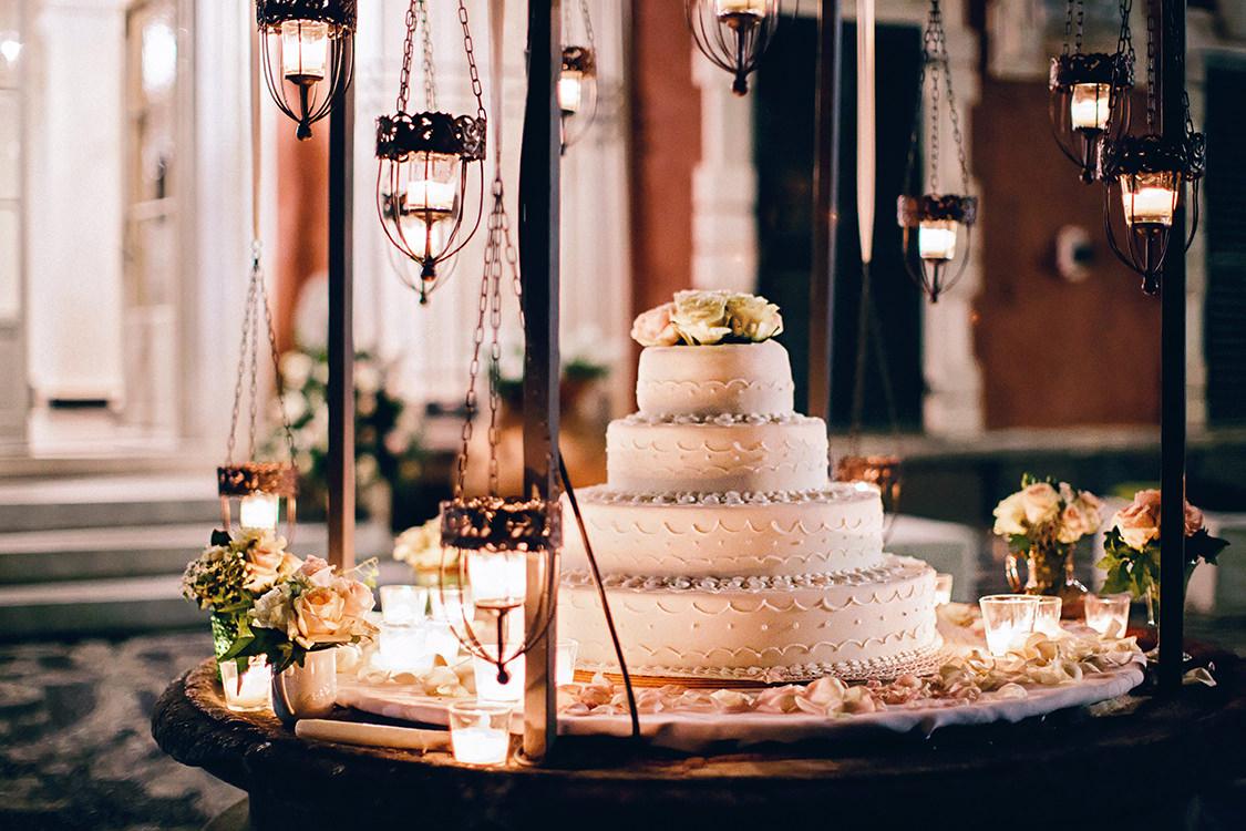 torta nuziale villa durazzo