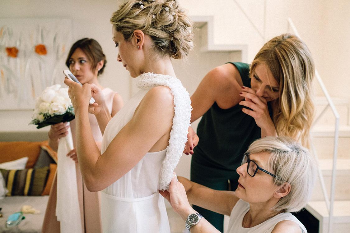 preparazione sposa matrimonio firenze