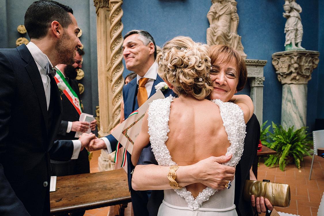emotional wedding in firenze