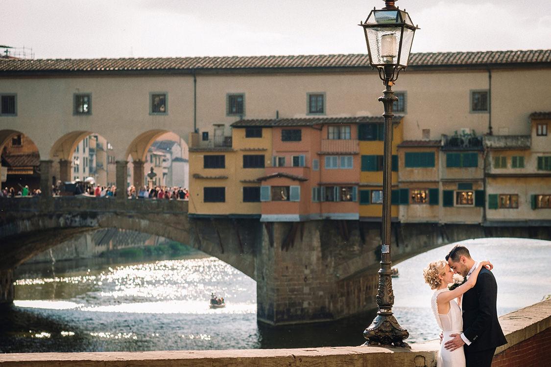 firenze wedding ponte vecchio