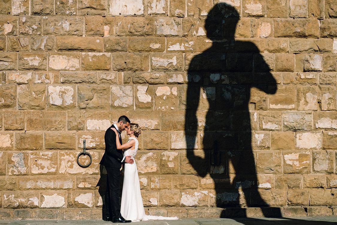 firenze wedding david michelangelo