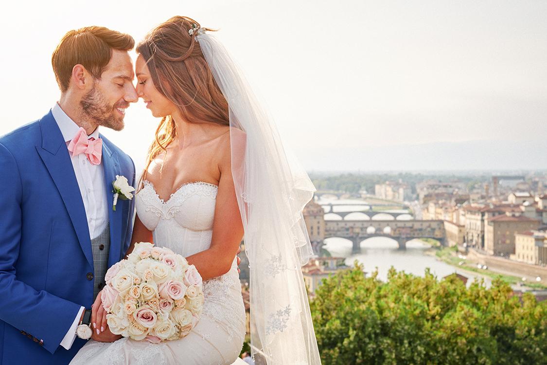 fotografo matrimonio firenze ponte vecchio