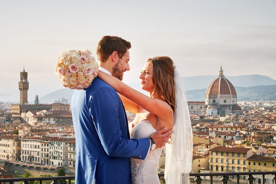 matrimonio firenze piazzale michelangelo
