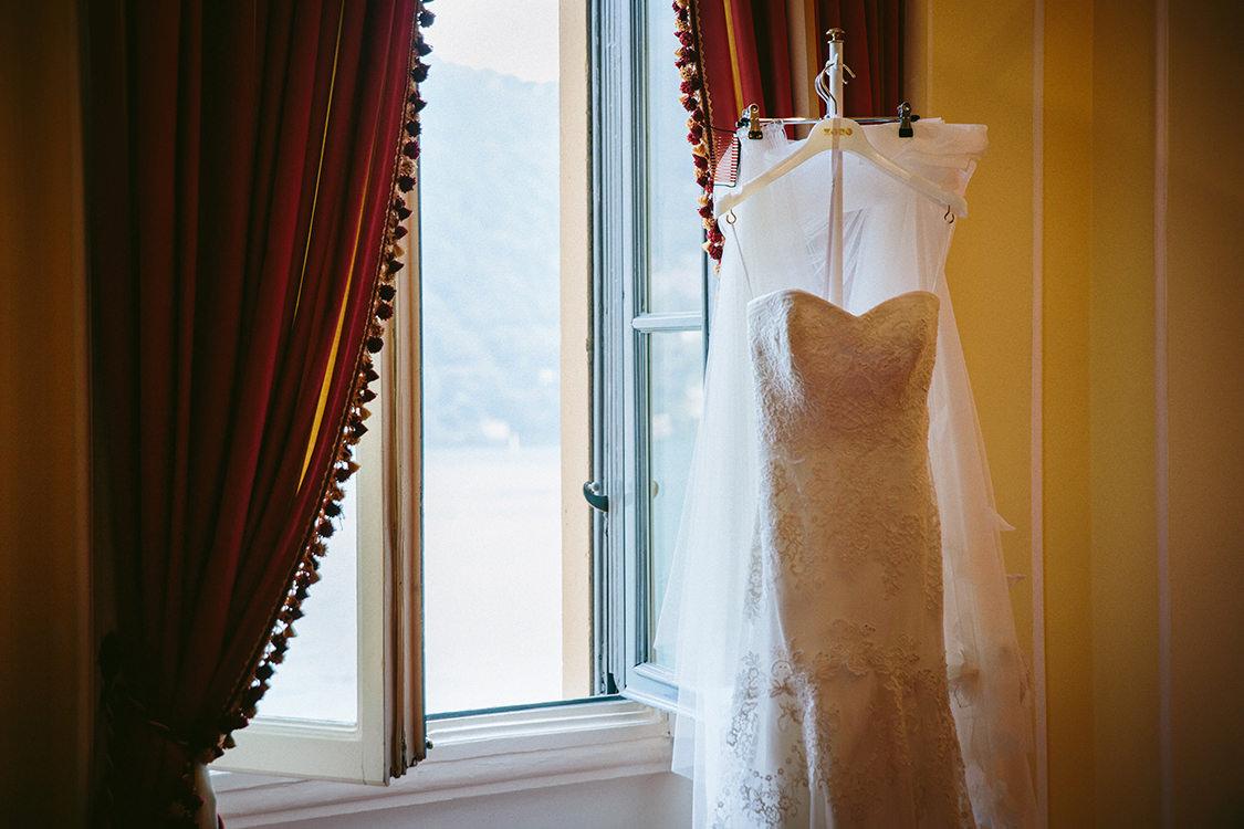 wedding gown villa d'este