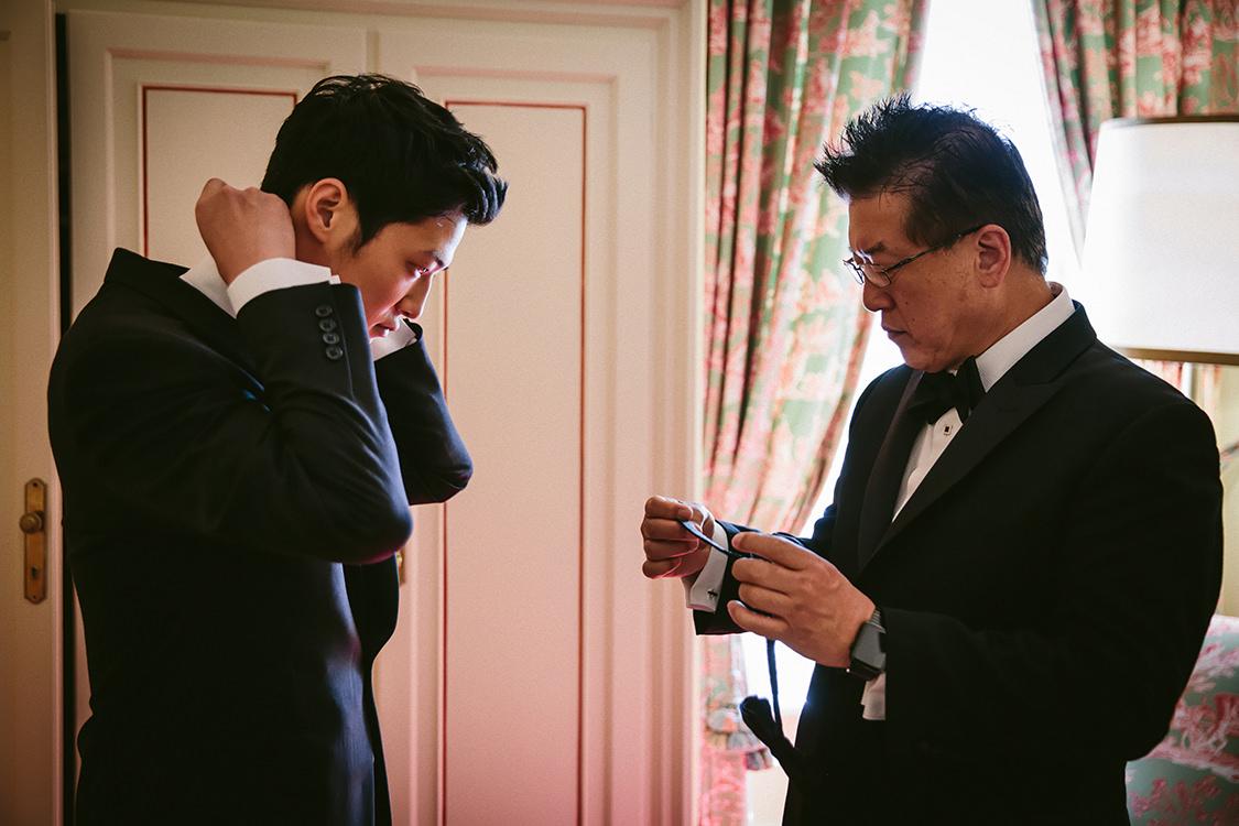 preparazione sposo villa d'este