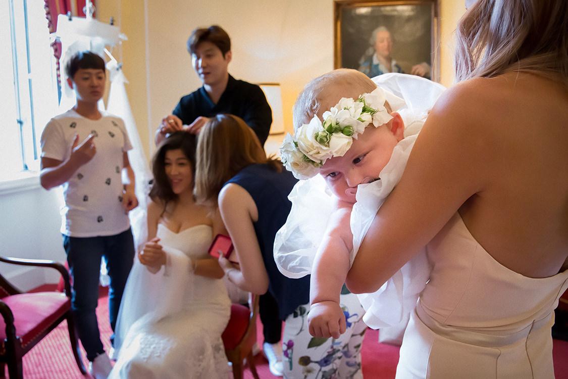 asian wedding in villa d'este