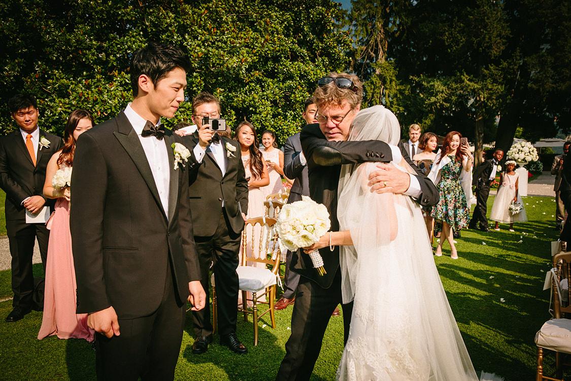 wedding ceremony villa d'este