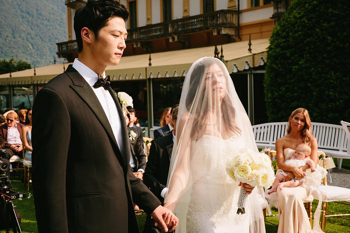 emotional wedding villa d'este