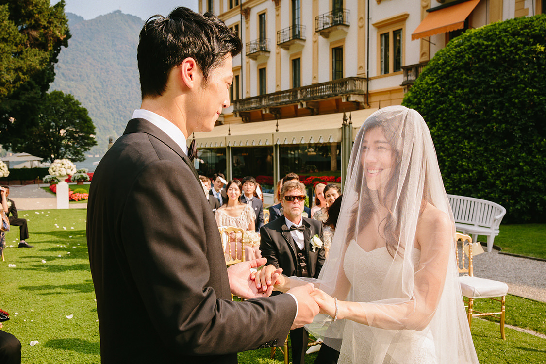 summer wedding villa d'este