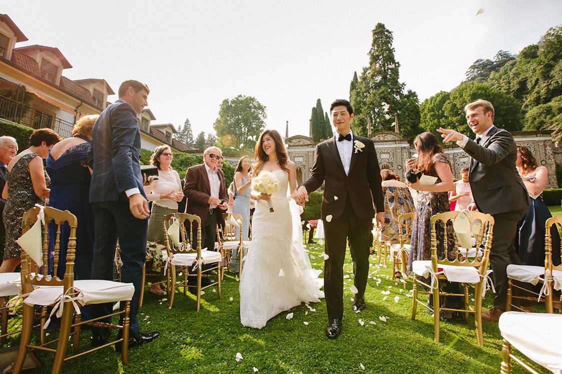 galleria foto matrimonio villa d'este
