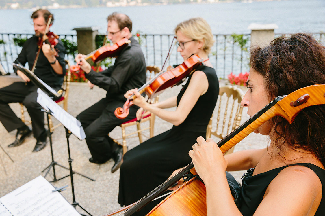 string quartet wedding villa d'este