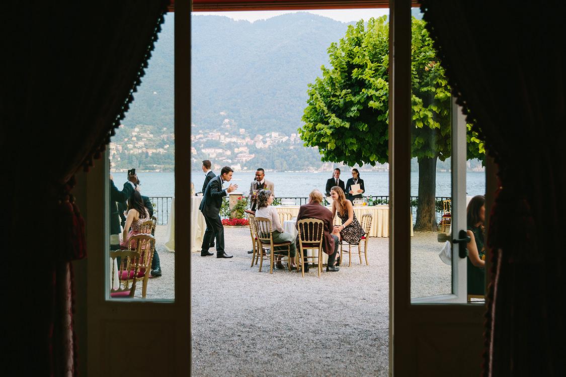 aperitivo matrimonio villa d'este