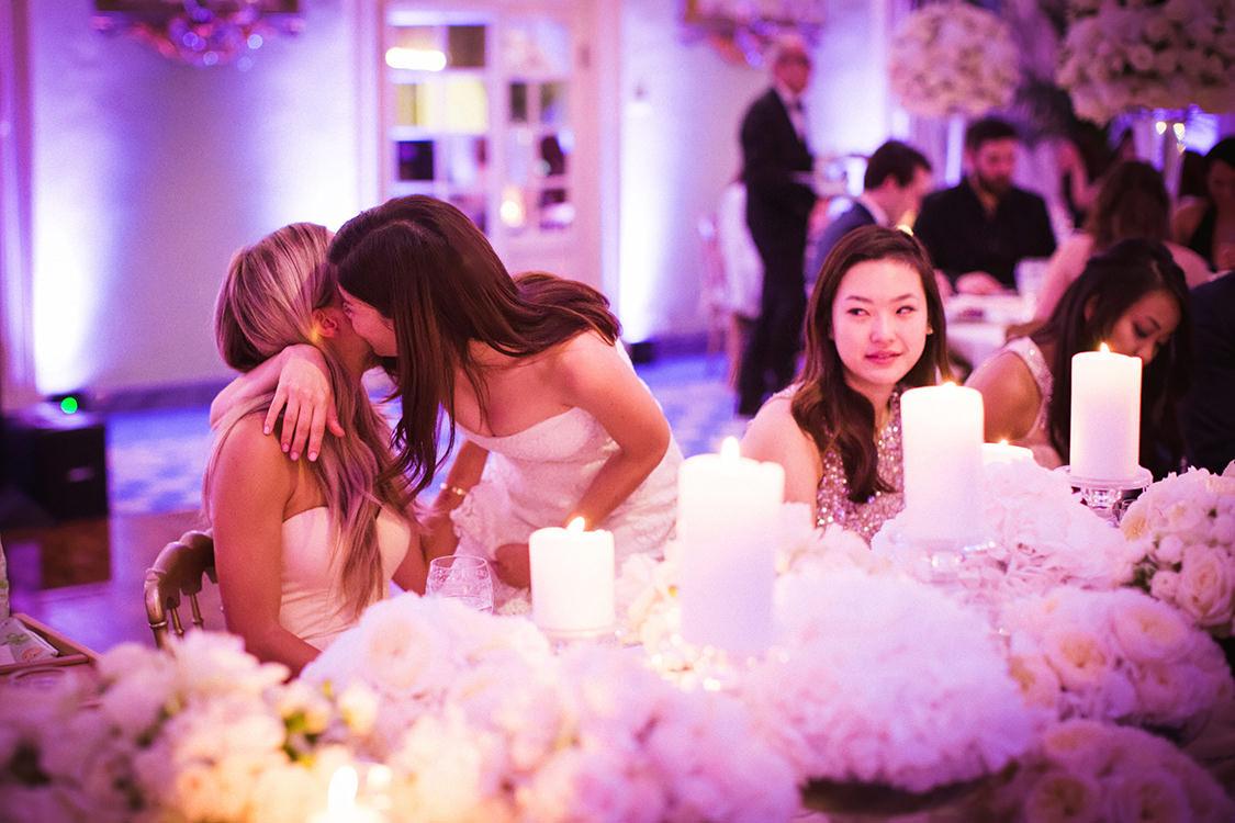 wedding reception villa d'este