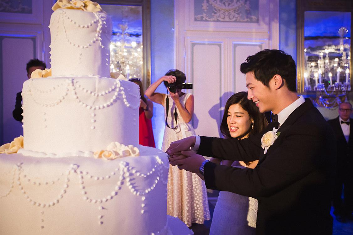 wedding cake villa d'este