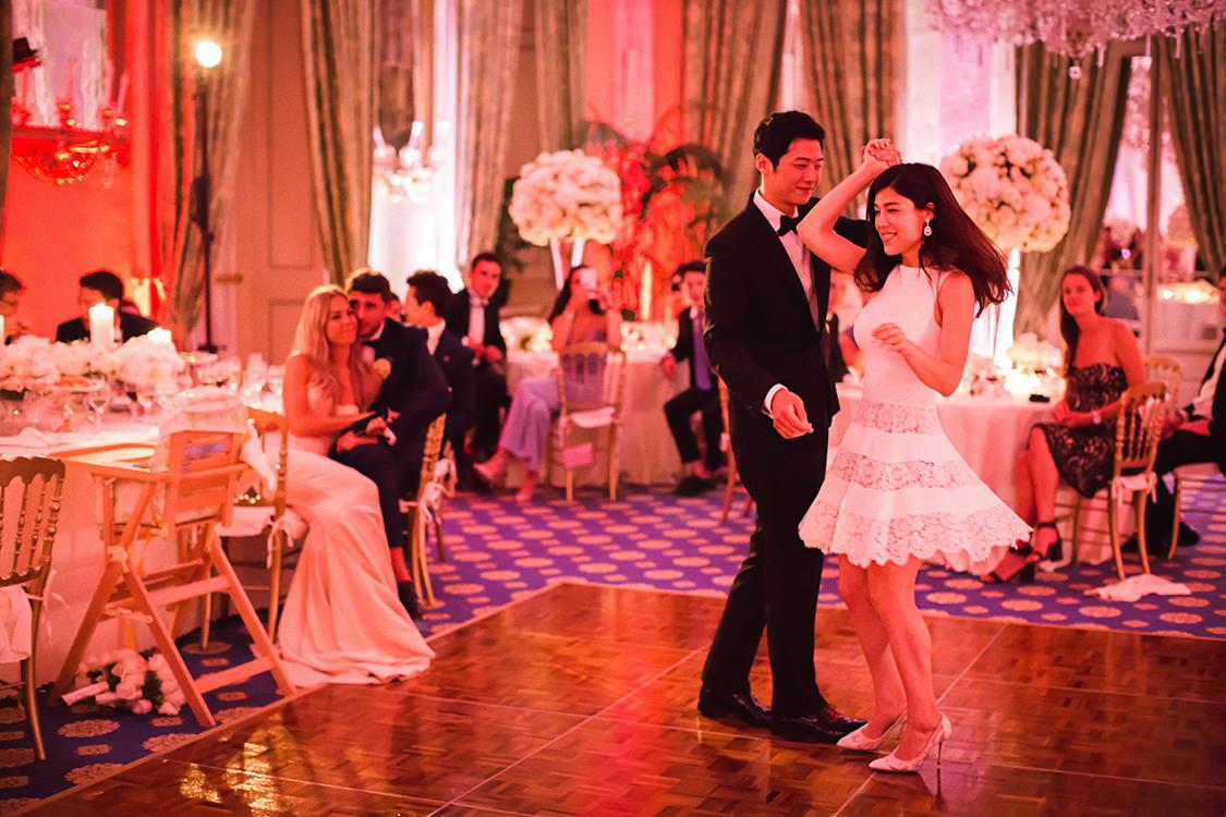 first dance villa d'este wedding