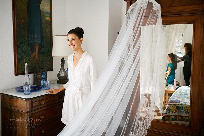 preparazione sposa matrimonio castello canevaro