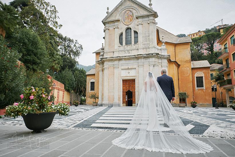 sposa matrimonio parrocchia zoagli