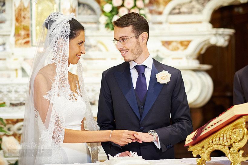 scambio anelli matrimonio zoagli