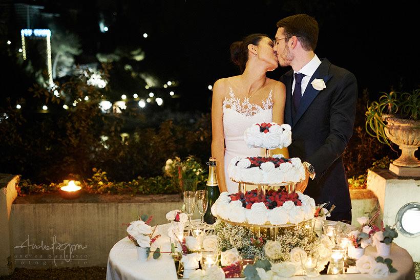 taglio torta matrimonio castello canevaro