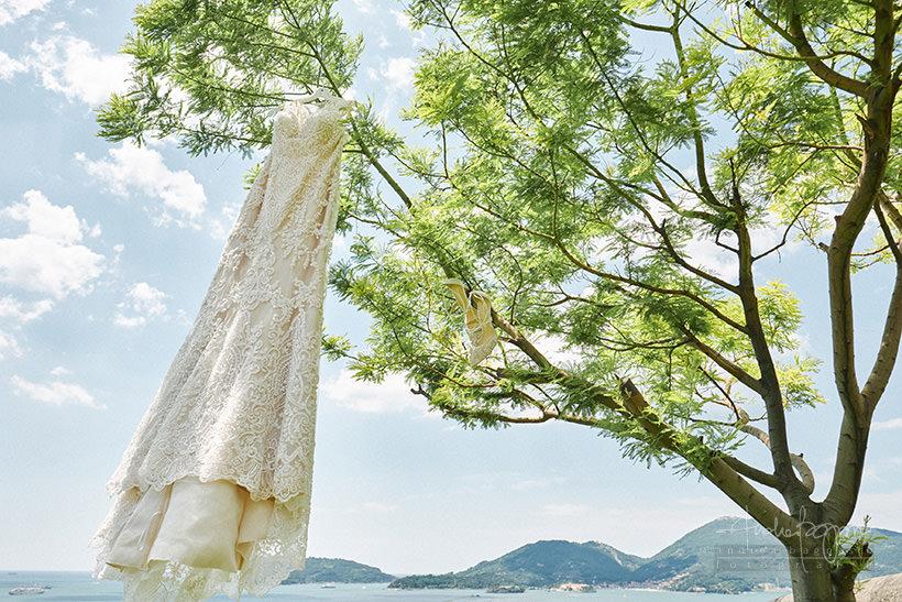 abito da sposa matrimonio Portovenere