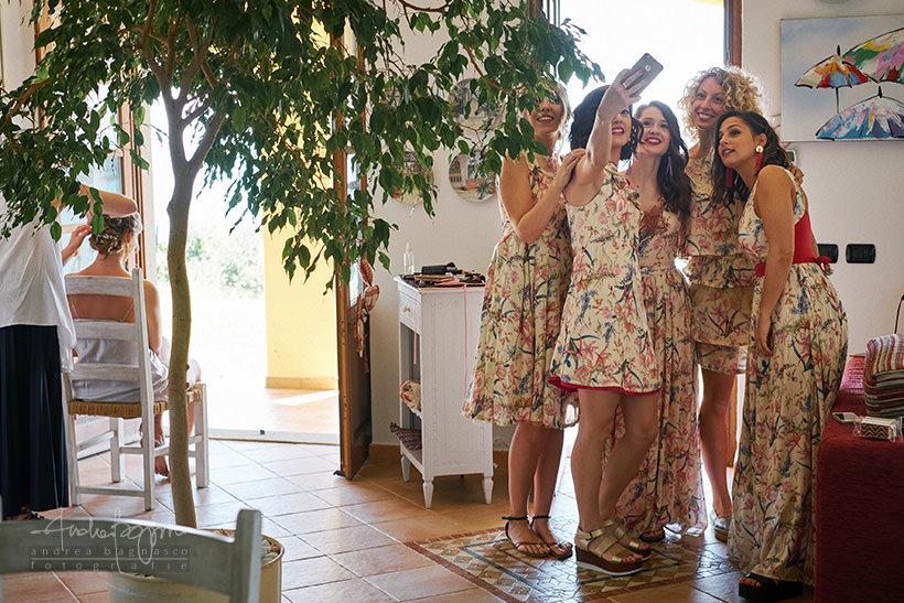 bridesmaids wedding Portovenere