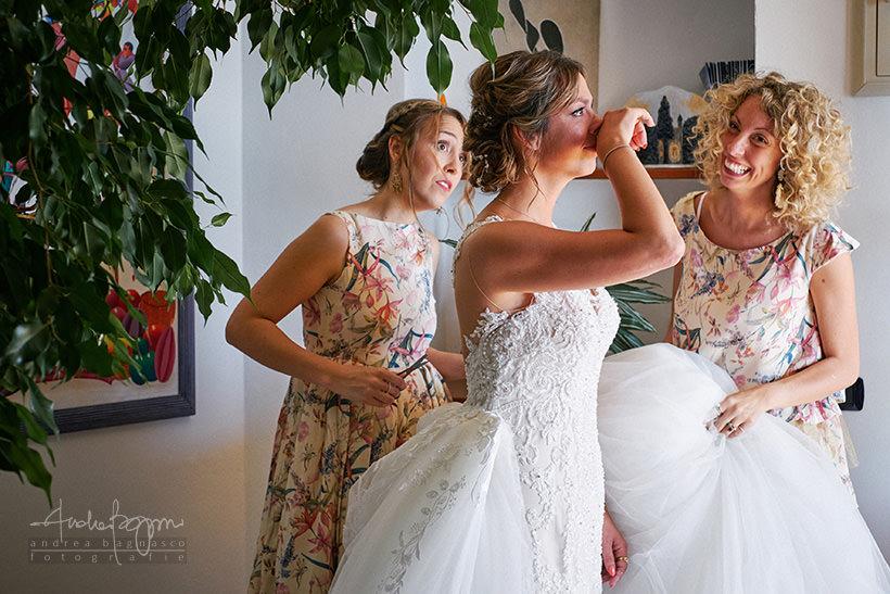 preparazione sposa matrimonio Portovenere
