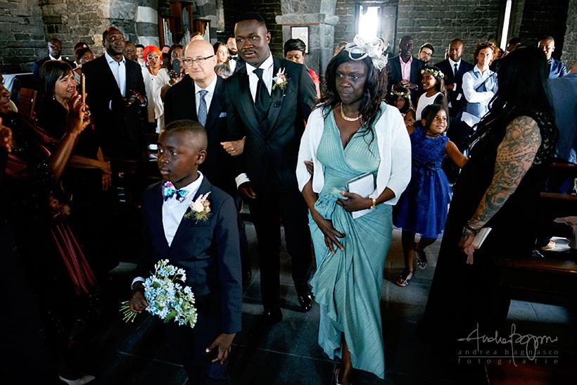 ingresso sposo San Pietro matrimonio Portovenere