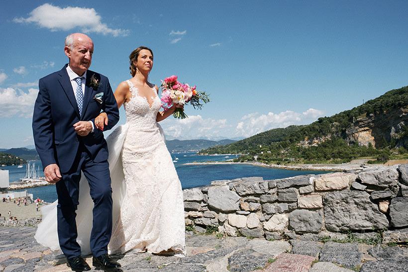 sposa matrimonio Portovenere