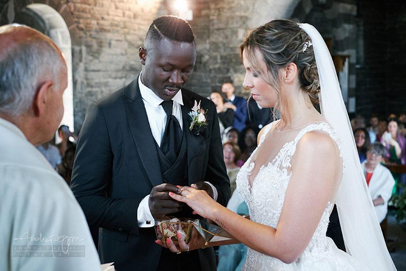 scambio anelli matrimonio Portovenere