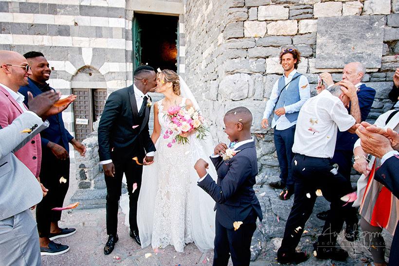 lancio riso matrimonio Portovenere
