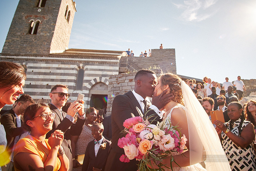 sposi San Pietro matrimonio Portovenere