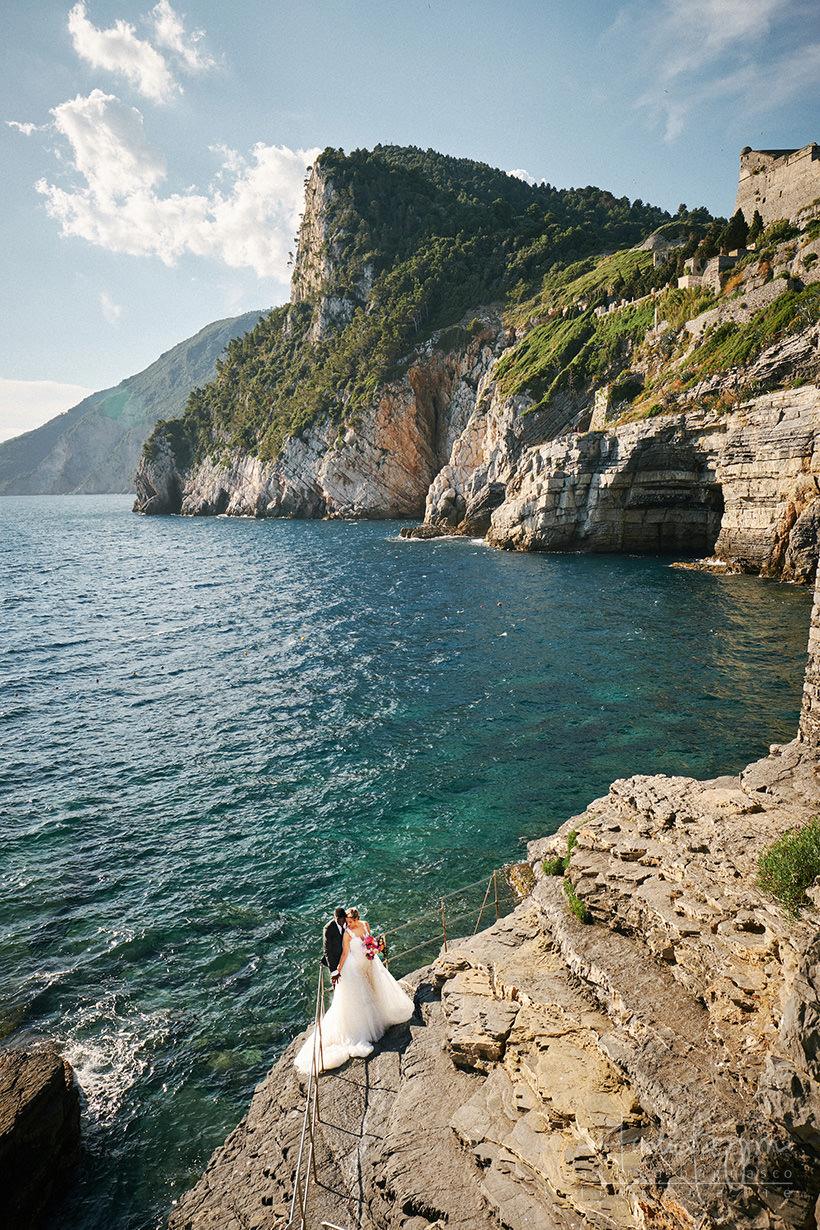 matrimonio Portovenere Grotta di Byron