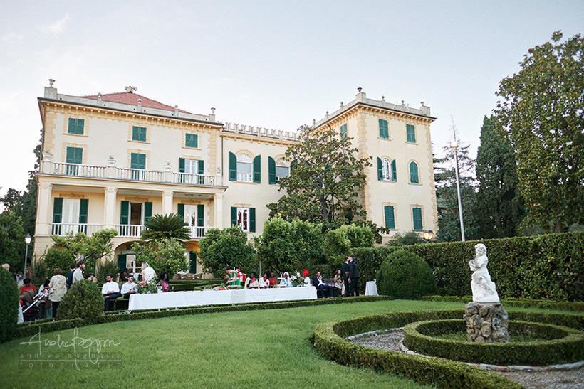 villa Marigola matrimonio Lerici