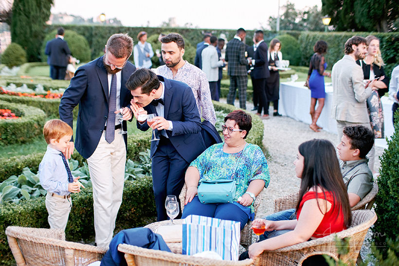 invitati matrimonio villa Marigola Lerici
