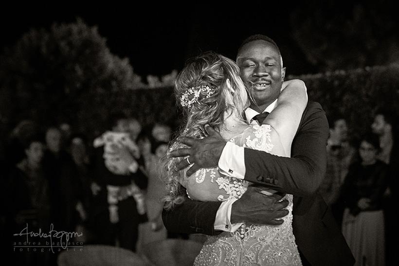 primo ballo Chiara e Lys matrimonio Villa Marigola Lerici