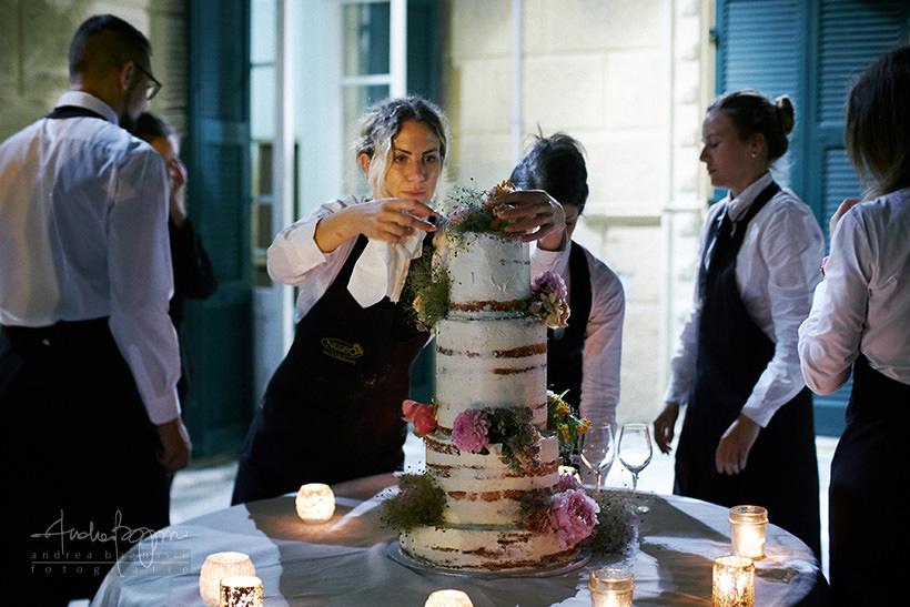 torta nuziale matrimonio Villa Marigola Lerici Negro Ricevimenti