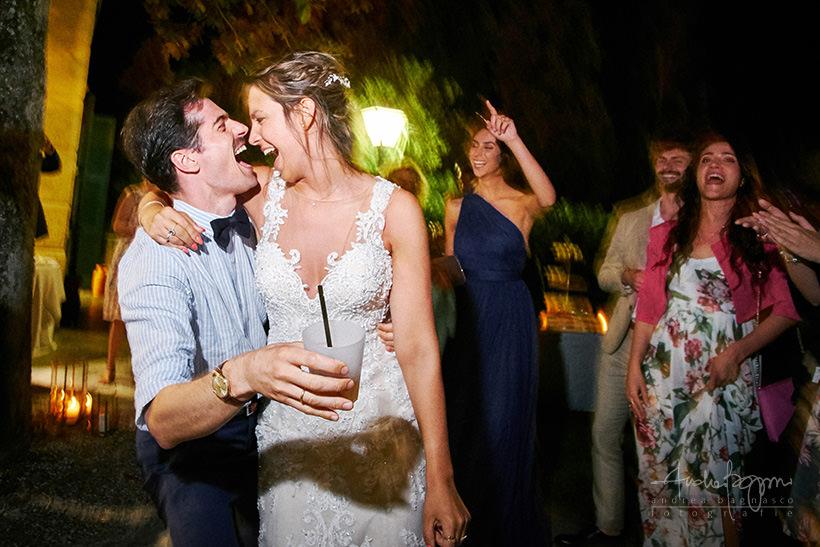 party Chiara e Lys matrimonio Villa Marigola Lerici
