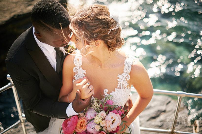 Chiara e Lys matrimonio Portovenere