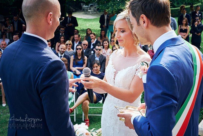scambio fedi matrimonio