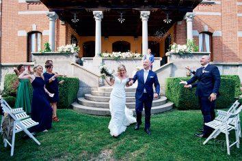lancio riso sposi matrimonio