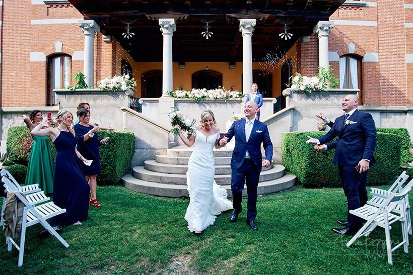 Wedding in Piedmont | The elegant wedding of A&F at Villa Cernigliaro