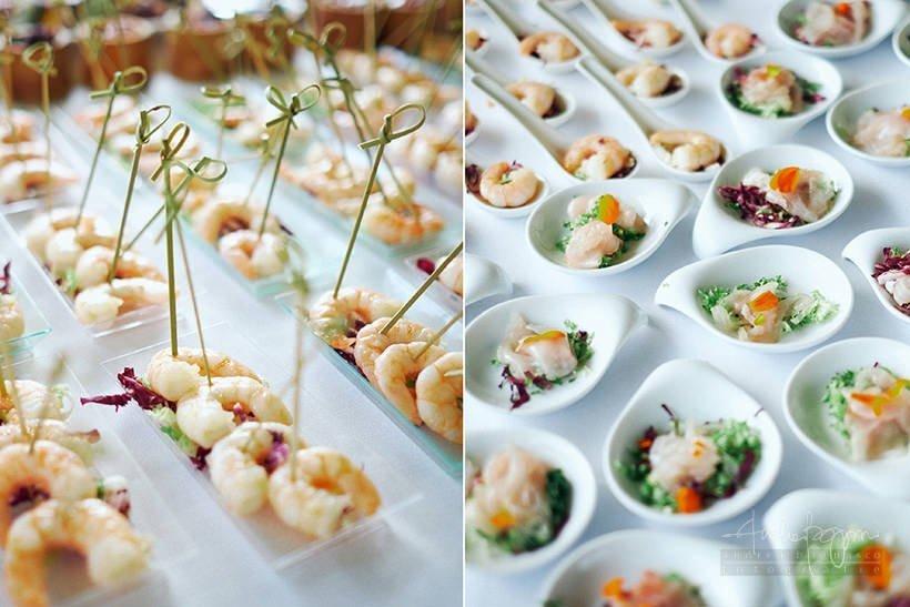 buffet aperitivo matrimonio
